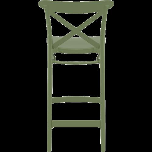 Siesta  Counter Barkruk - 65 cm - Cross - Olijf Groen - Siesta