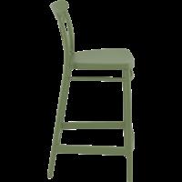thumb-Counter Barkruk - 65 cm - Cross - Olijf Groen - Siesta-7