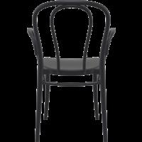 thumb-Tuinstoel - Stapelbaar - Zwart - Victor XL - Siesta-4