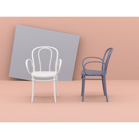 thumb-Tuinstoel - Stapelbaar - Wit - Victor XL - Siesta-3