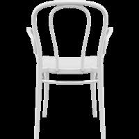 thumb-Tuinstoel - Stapelbaar - Wit - Victor XL - Siesta-4