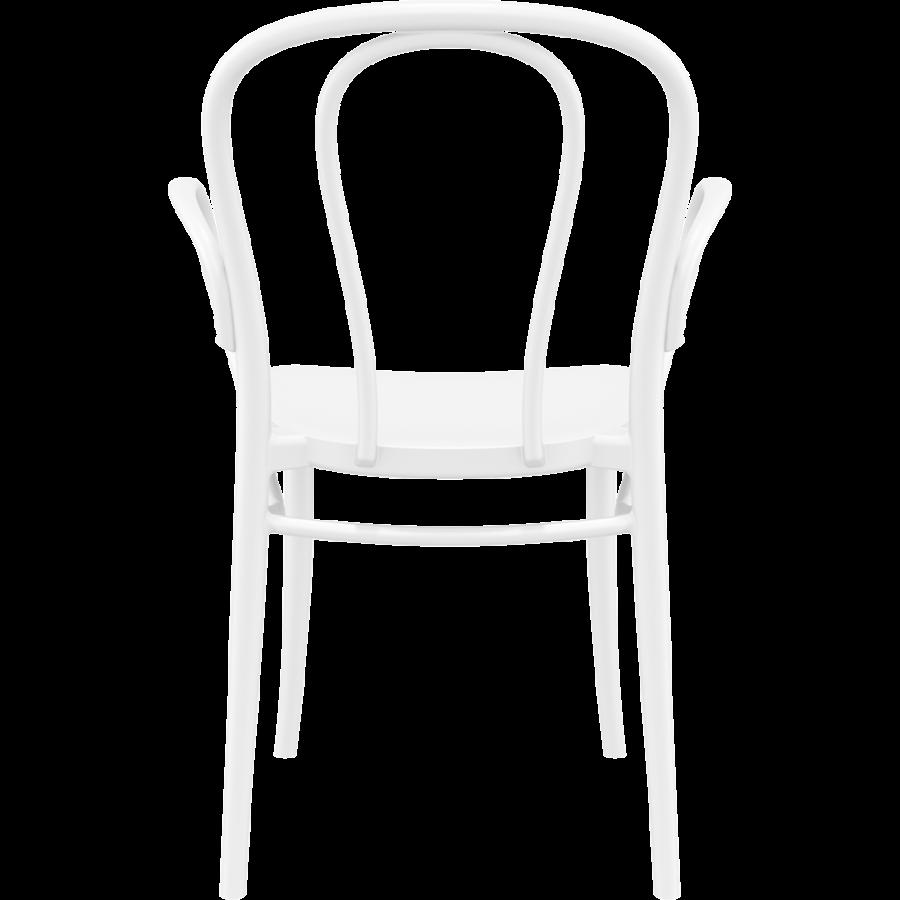 Tuinstoel - Stapelbaar - Wit - Victor XL - Siesta-4
