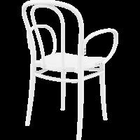 thumb-Tuinstoel - Stapelbaar - Wit - Victor XL - Siesta-6