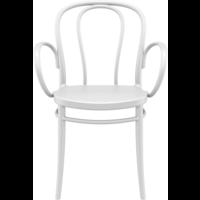 thumb-Tuinstoel - Stapelbaar - Wit - Victor XL - Siesta-2