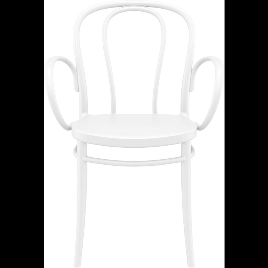 Tuinstoel - Stapelbaar - Wit - Victor XL - Siesta-2