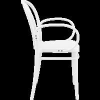 thumb-Tuinstoel - Stapelbaar - Wit - Victor XL - Siesta-5