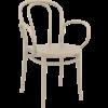 Siesta  Tuinstoel - Stapelbaar - Taupe - Victor XL - Siesta