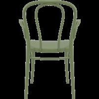 thumb-Tuinstoel - Stapelbaar - Olijf Groen - Victor XL - Siesta-4