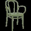 Siesta  Tuinstoel - Stapelbaar - Olijf Groen - Victor XL - Siesta