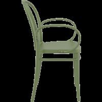 thumb-Tuinstoel - Stapelbaar - Olijf Groen - Victor XL - Siesta-6