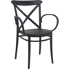 Siesta  Tuinstoel - Stapelbaar - Zwart - Cross XL - Siesta