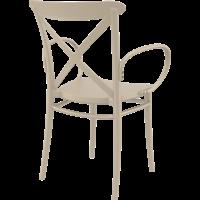 thumb-Tuinstoel - Stapelbaar - Taupe - Cross XL - Siesta-7