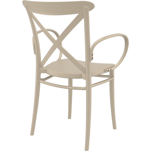 Siesta  Tuinstoel - Stapelbaar - Taupe - Cross XL - Siesta