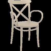 Tuinstoel - Stapelbaar - Taupe - Cross XL - Siesta