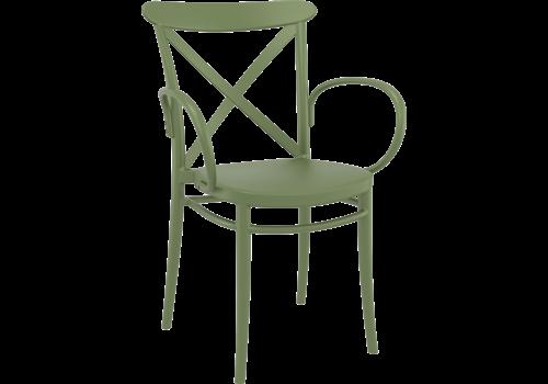Tuinstoel - Stapelbaar - Groen - Cross XL - Siesta