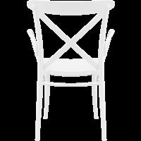thumb-Tuinstoel - Stapelbaar - Wit - Cross XL - Siesta-5
