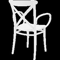 thumb-Tuinstoel - Stapelbaar - Wit - Cross XL - Siesta-6