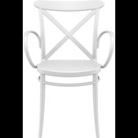 thumb-Tuinstoel - Stapelbaar - Wit - Cross XL - Siesta-2