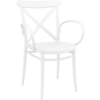 Siesta  Tuinstoel - Stapelbaar - Wit - Cross XL - Siesta