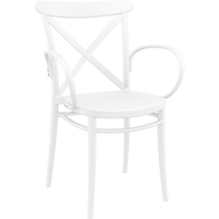 thumb-Tuinstoel - Stapelbaar - Wit - Cross XL - Siesta-1