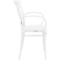 thumb-Tuinstoel - Stapelbaar - Wit - Cross XL - Siesta-7
