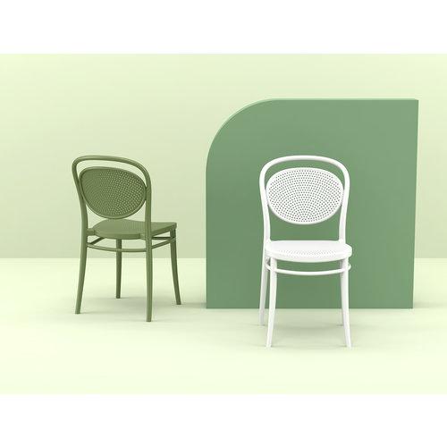 Siesta  Tuinstoel - Stapelbaar - Wit - Marcel - Siesta