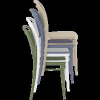 thumb-Tuinstoel - Stapelbaar - Taupe - Marcel - Siesta-5