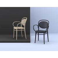 thumb-Tuinstoel - Stapelbaar - Zwart - Marcel XL - Siesta-4