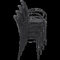 thumb-Tuinstoel - Stapelbaar - Wit - Marcel XL - Siesta-9