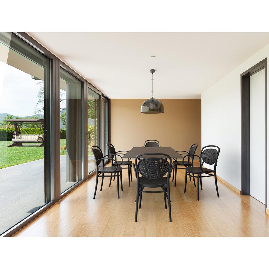 Tuinstoel - Stapelbaar - Wit - Marcel XL - Siesta-4