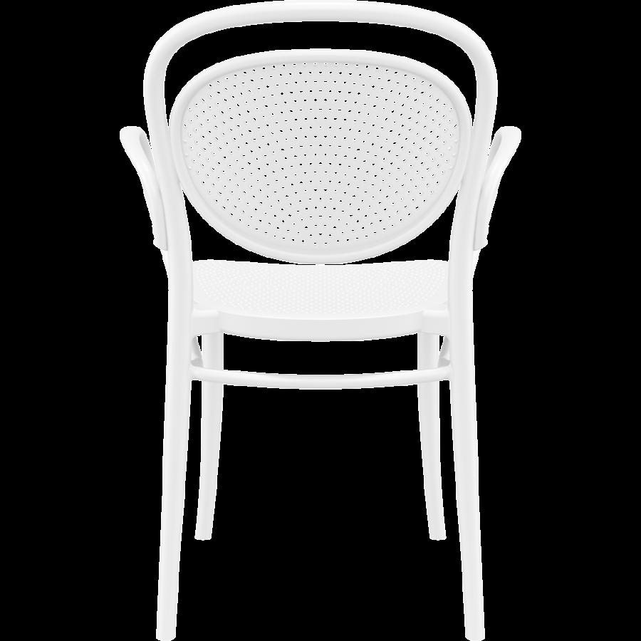 Tuinstoel - Stapelbaar - Wit - Marcel XL - Siesta-5