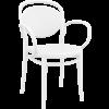 Siesta  Tuinstoel - Stapelbaar - Wit - Marcel XL - Siesta
