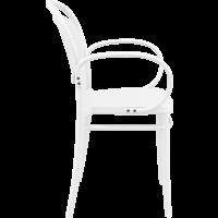 thumb-Tuinstoel - Stapelbaar - Wit - Marcel XL - Siesta-7