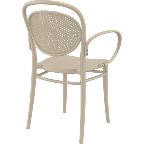 Siesta  Tuinstoel - Stapelbaar - Taupe - Marcel XL - Siesta