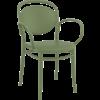 Siesta  Tuinstoel - Stapelbaar - Olijf Groen - Marcel XL - Siesta