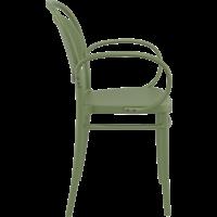 thumb-Tuinstoel - Stapelbaar - Olijf Groen - Marcel XL - Siesta-7