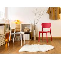 thumb-Tuinstoel - Stapelbaar - Rood - Monna - Siesta-4