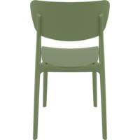 thumb-Tuinstoel - Stapelbaar - Olijf Groen - Monna - Siesta-6