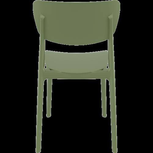 Siesta  Tuinstoel - Stapelbaar - Olijf Groen - Monna - Siesta