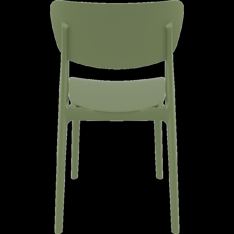 Tuinstoel - Stapelbaar - Olijf Groen - Monna - Siesta-6