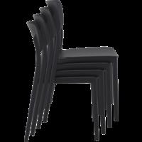 thumb-Tuinstoel - Stapelbaar - Zwart - Lucy - Siesta-8