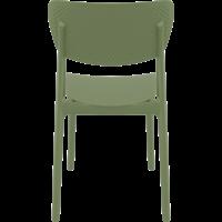 thumb-Tuinstoel - Stapelbaar - Olijf Groen - Lucy - Siesta-5