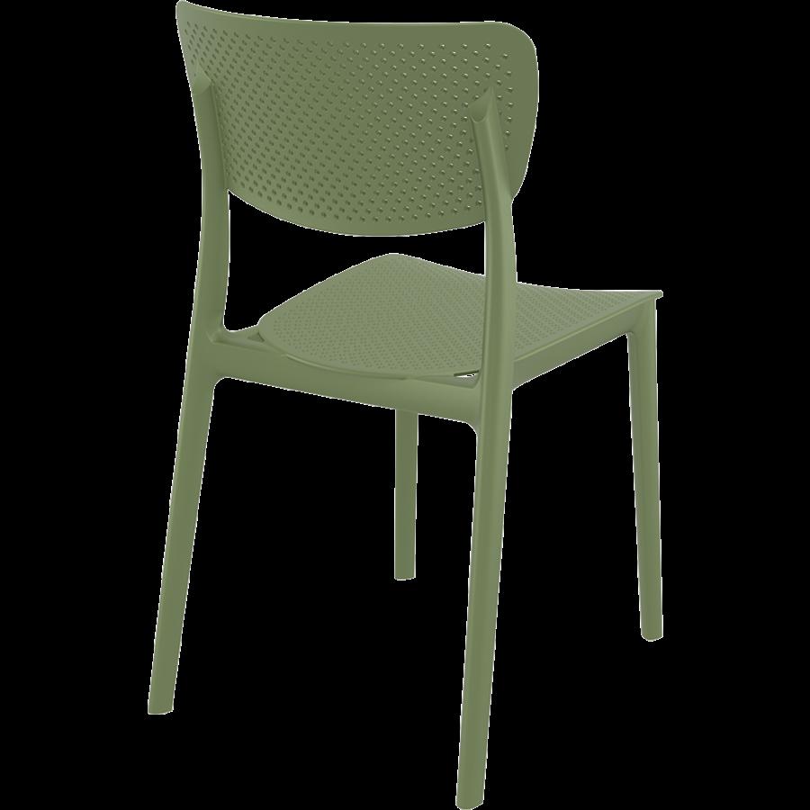 Tuinstoel - Stapelbaar - Olijf Groen - Lucy - Siesta-6