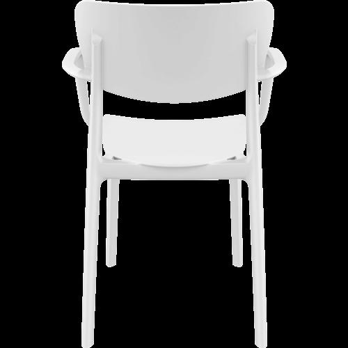 Siesta  Tuinstoel - Stapelbaar - Wit - Lisa - Siesta