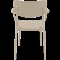 thumb-Tuinstoel - Stapelbaar - Taupe - Loft - Siesta-6