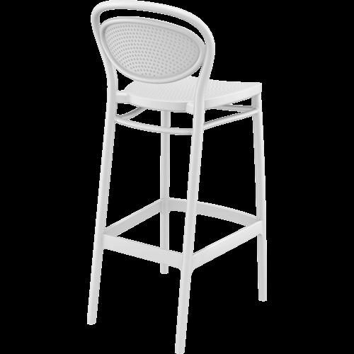 Siesta  Barkruk - 75 cm - Marcel - Wit - Siesta