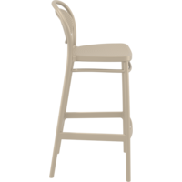 thumb-Barkruk - 75 cm - Marcel - Taupe - Siesta-7