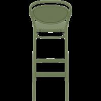 thumb-Barkruk - 75 cm - Marcel - Olijf Groen - Siesta-5