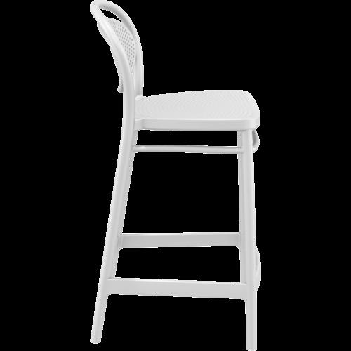 Siesta  Counter Barkruk - 65 cm - Marcel - Wit - Siesta