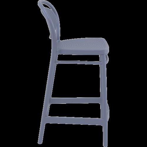 Siesta  Counter Barkruk - 65 cm - Marcel - Donkergrijs - Siesta